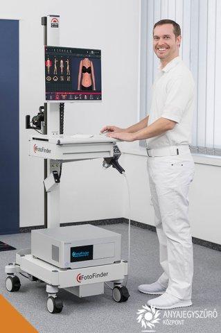 Teljes testtérkép<br> automatizált anyajegyszűrés